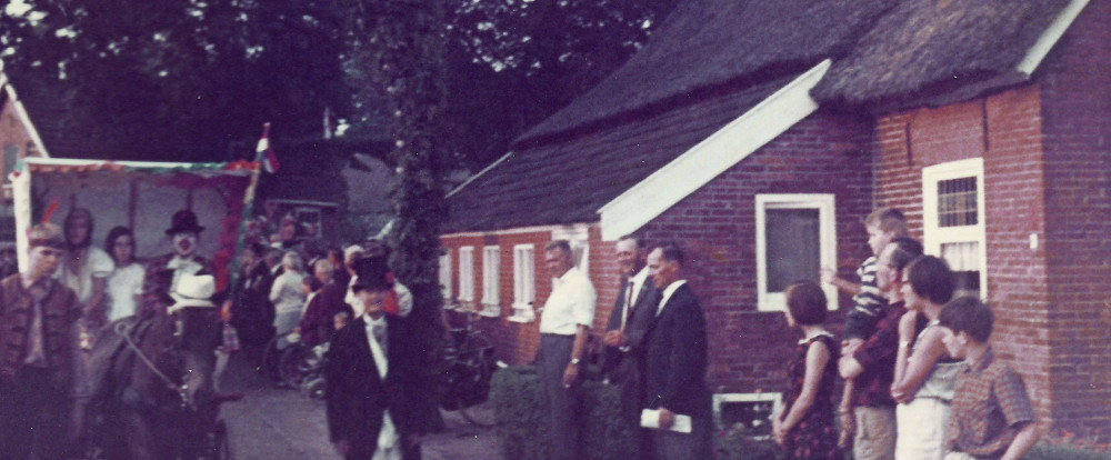 1967 Borger Oostermoer optocht Pipo